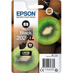 Tinte - Epson - photoschwarz - 202XL - original EPSON C13T02H14010