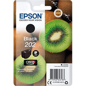Tinte - Epson - schwarz - 202 - original EPSON C13T02E14010