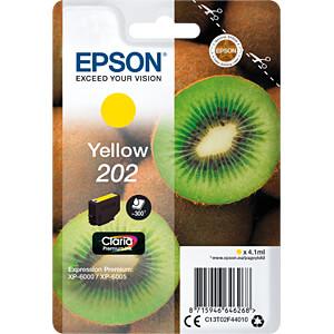 Tinte - Epson - gelb - 202 - original EPSON C13T02F44010