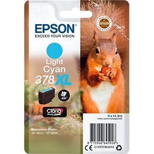 Tinte - Epson - hellcyan - 378XL - original EPSON C13T37954010