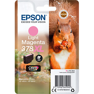 Tinte - Epson - hellmagenta - 378XL - original EPSON C13T37964010