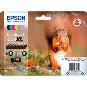 Tinte - Epson - Multipack 6-farbig - 378XL - original EPSON C13T37984010