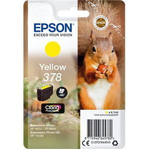 Tinte - Epson - gelb - 378 - original EPSON C13T37844010