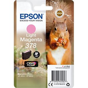 Tinte - Epson - hellmagenta - 378 - original EPSON C13T37864010