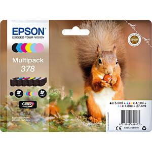 Tinte - Epson - Multipack 6-farbig - 378 - original EPSON C13T37884010
