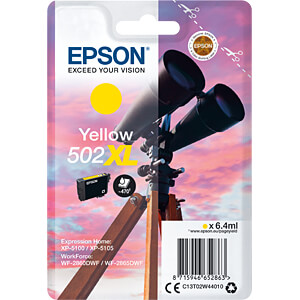 Tinte - Epson - gelb - 502XL - original EPSON C13T02W44010