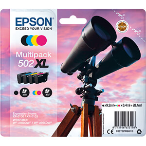 Tinte - Epson - 4-color - 502XL - original EPSON C13T02W64010