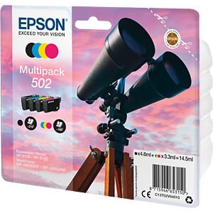 Tinte - Epson - 4-color - 502 - original EPSON C13T02V64010