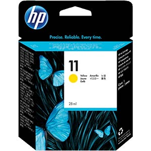 Ink - HP - yellow - 11 - original HEWLETT PACKARD C4838A