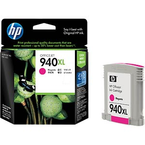 Original HP ink, magenta, approx. 1400 pages HEWLETT PACKARD C4908AE