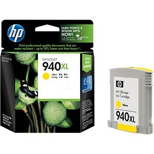 Tinte - HP - gelb - 940XL - original HEWLETT PACKARD C4909AE