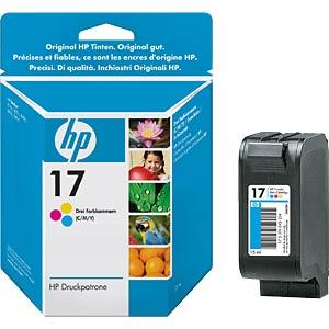 Tinte - HP - 3-farbig - 17 - original HEWLETT PACKARD