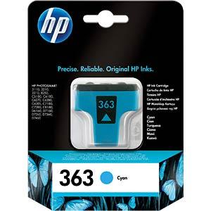 Inkt - HP - cyaan - 363 - origineel HEWLETT PACKARD C8771EE