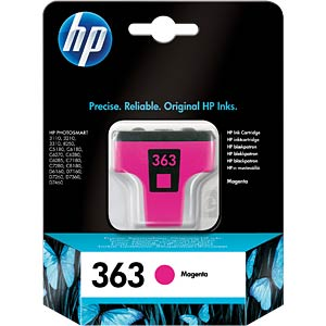 Tinte - HP - magenta - 363 - original HEWLETT PACKARD C8772EE
