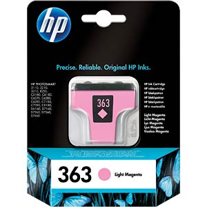Light magenta: HP Deskjet PS8250... HEWLETT PACKARD C8775EE