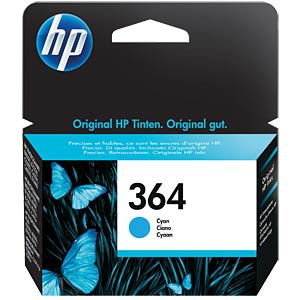 Original HP ink, cyan, approx. 300 pages HEWLETT PACKARD CB318EE