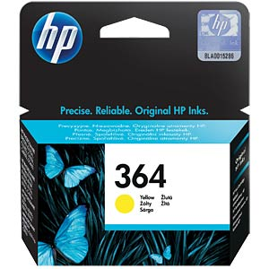 Original HP ink, yellow, approx. 300 pages HEWLETT PACKARD CB320EE#BA1