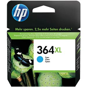 Tinte - HP - cyan - 364XL - original HEWLETT PACKARD CB323EE