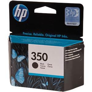 Inkt - HP - zwart - 350 - origineel HEWLETT PACKARD CB335EE