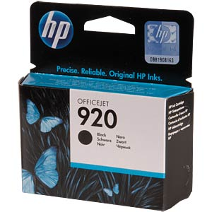 Original HP ink, black HEWLETT PACKARD CD971AE