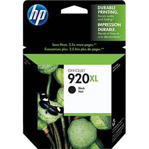 Original HP ink, black HEWLETT PACKARD CD975AE
