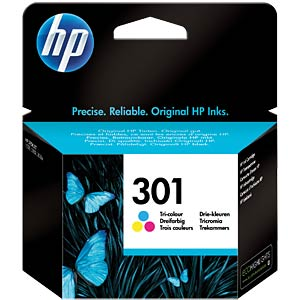 Original HP ink, 3-colour, approx. 165 pages HEWLETT PACKARD CH562EE#UUS