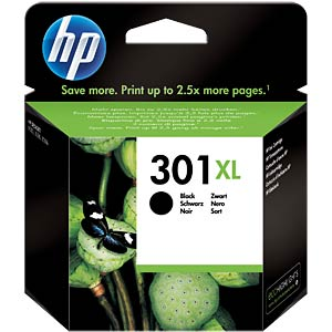 Original HP ink, black, approx. 480 pages HEWLETT PACKARD CH563EE