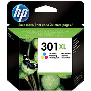 Original HP ink, 3-colour, approx. 330 pages HEWLETT PACKARD CH564EE