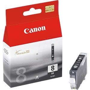 Tinte, schwarz - CLI-8 - original CANON 0620B001