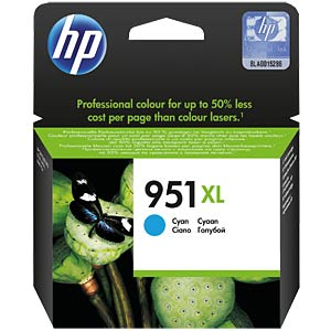 Inkt - HP - cyaan - 951XL - origineel HEWLETT PACKARD CN046AE#BGX
