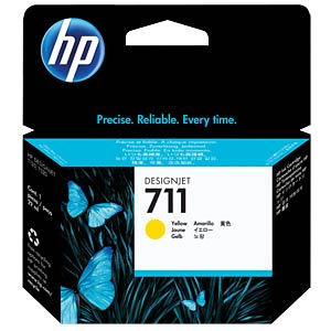 Tinte - HP - gelb - 711 - original HEWLETT PACKARD CZ132A