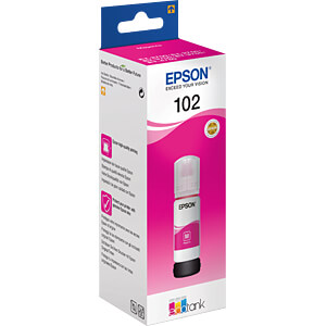 Tinte - Epson - magenta - 102 EcoTank - original EPSON C13T03R340
