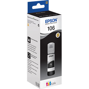 Ink - Epson - photosblack - 106 EcoTank - original EPSON C13T00R140