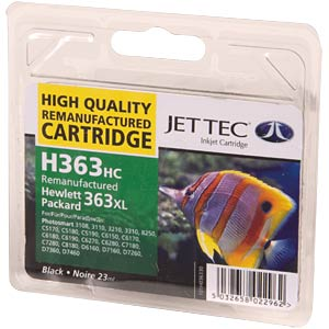 Tinte - HP - schwarz - 363XL - refill JET TEC 101H036330