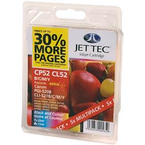 Tinte - Canon - Multipack - PG-520 - refill JET TEC 101C052126