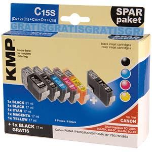Tinte - Canon - Multipack - BCI-3E - refill KMP PRINTTECHNIK AG 0957,9585