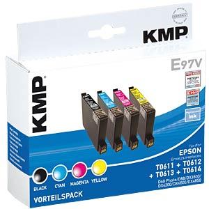 Tinte - Epson - Multipack - T0615 - refill KMP PRINTTECHNIK AG 1603,4005