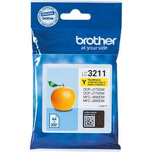 Tinte - Brother - gelb - LC3211 - original BROTHER LC3211Y
