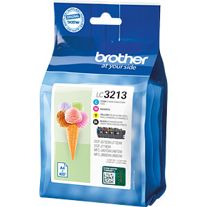 Tinte - Brother - Valuepack - LC3213 - original BROTHER LC3213VALDR