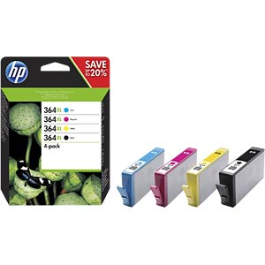 Ink — HP — multipack — 364XL — original HEWLETT PACKARD N9J74AE