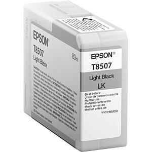 Tinte - Epson - hellschwarz - T85 -original EPSON C13T850700