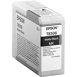 Tinte - Epson - mattschwarz - T85 -original EPSON C13T850800