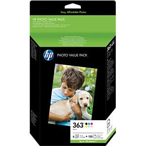 Tinte - HP - Valuepack - 363 - original HEWLETT PACKARD Q7966EE