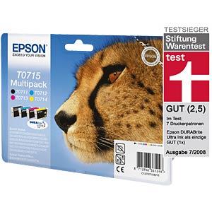 Tinte - Epson - Multipack - T0715 - original EPSON C13T07154010