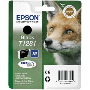 Tinte - Epson - schwarz - T1281 - original EPSON C13T12814012