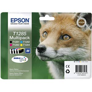 Multi-pack: Stylus S22/SX125 EPSON C13T12854012