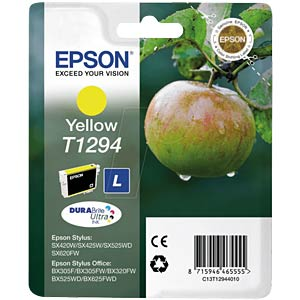 Yellow: Stylus SX420W, Office BX305F EPSON C13T12944011