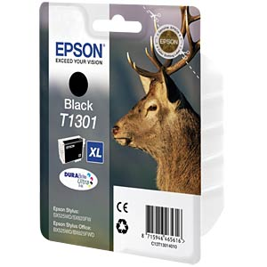 Tinte - Epson - schwarz - T1301 - original EPSON C13T13014012