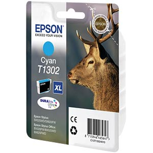 Tinte - Epson - cyan - T1302 - original EPSON C13T13024012