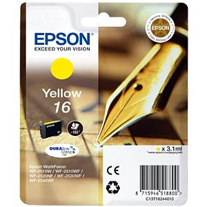 Tinte - Epson - gelb - T1624 - original EPSON C13T16244010